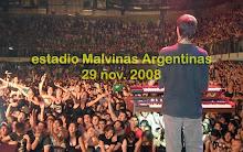 29/11/08 Las Pastillas Del Abuelo, Estadio Malvinas Argentinas, Paternal.