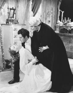 La mort de Marguerite (fotograma de `La Dama de les Camèlies´, de George Cukor)
