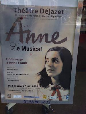 Bryce corbett anne frank the musical fun for all the family for Anne frank musical