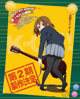 K-On! Anime segunda temporada second season