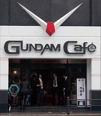 Gundam Café Bar Akihabara