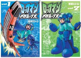 Rockman Megamix Manga