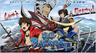 Sengoku Basara Anime 2da temporada