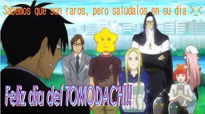 Feliz dia del Tomodachi
