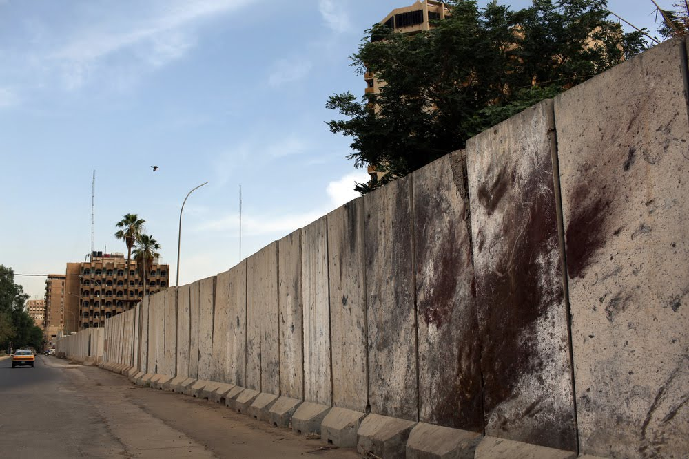 The Pickett Lens Baghdad S Blast Walls