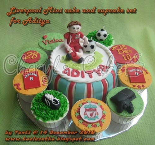 Birthday Cake: Liverpool