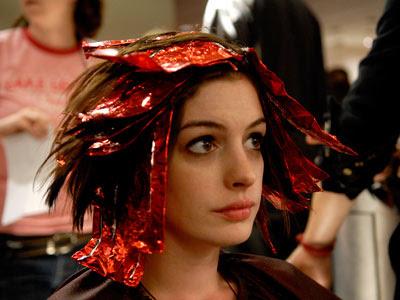 Anne Hathaway, as Kym, in Jonathan Demme's Rachel Getting Married, ...