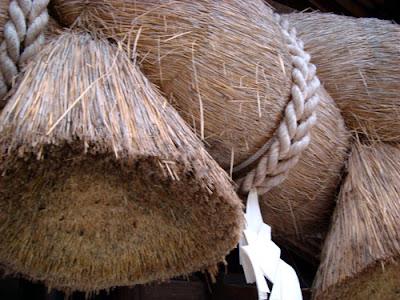 Izumo Taisha sacred straw ropes