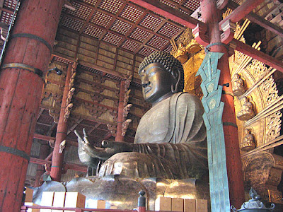 Daibutsu, Todaiji Temple Nara
