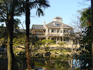 The Rokkaen and Gardens, designed by Josiah Conder, Kuwana, Mie Prefecture.
