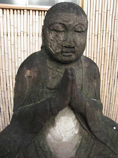 Buddha at Joganji Temple, Nakano.