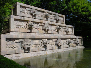 Quetzalcoatl Fountain