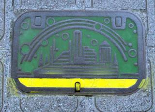 Sendai manhole.