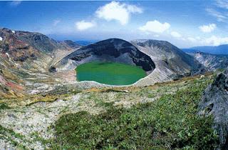 Okama Lake, June.