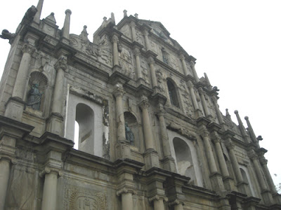 Ruinas de Sao Paulo Macau