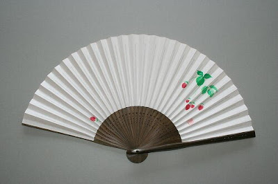 Paper Fans From Japan