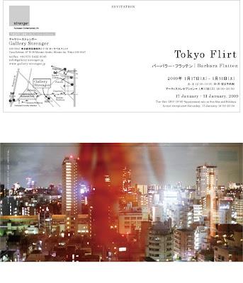 Barbara Flatten Exhibition, Gallery Strenger, Minami Azabu, Tokyo