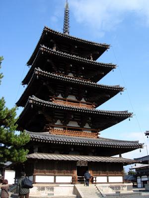 Five-story Pagoda, Horyuji Temple Nara