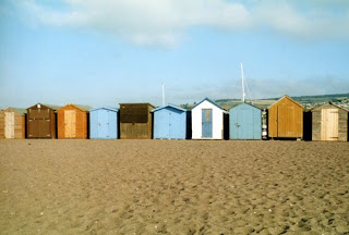 Teignmouth beach huts