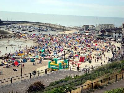 Devon & Dorset's Beaches Get Busy