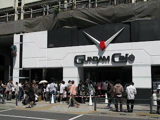 Gundam Cafe Akihabara