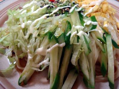 Hiyashi Chuka Cold Noodles