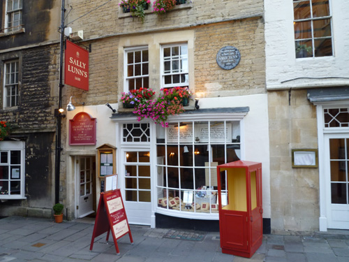 Sally Lunn's Bath | Britain Visitor Blog