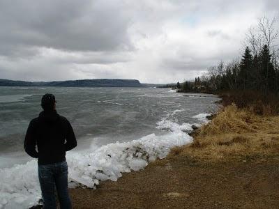 Whitefish Lake April 3, 2010