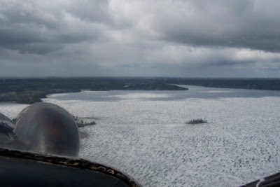 Pipestone Bay was frozen, 2008