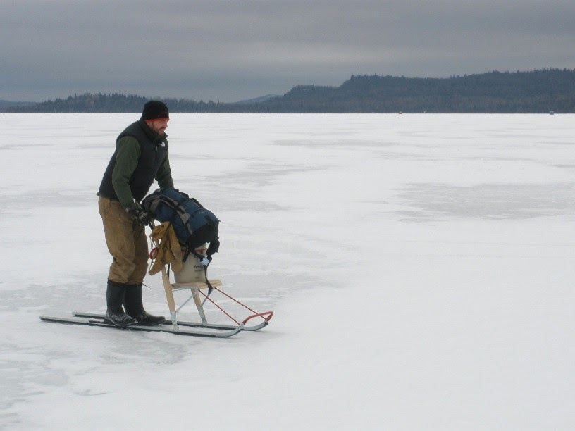 Bow narrows camp blog on red lake ontario kicksled my for Go ice fish