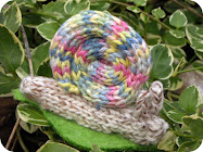 Knitted Snail Tutorial