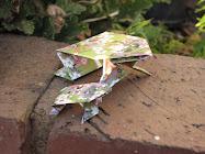 Origami Frog Tutorial