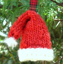 Knitted Santa Hat Pattern