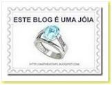 """Prêmio """"Esse Blog é Uma Jóia"""""""