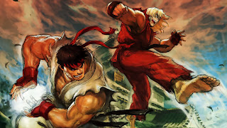 Ken versus Ryu of Street Fighter Movie