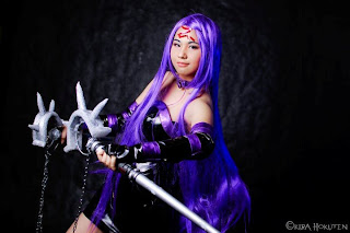 Jia Gold Bustamante Cosplay Rider