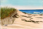 Cape Cod beach 7X10