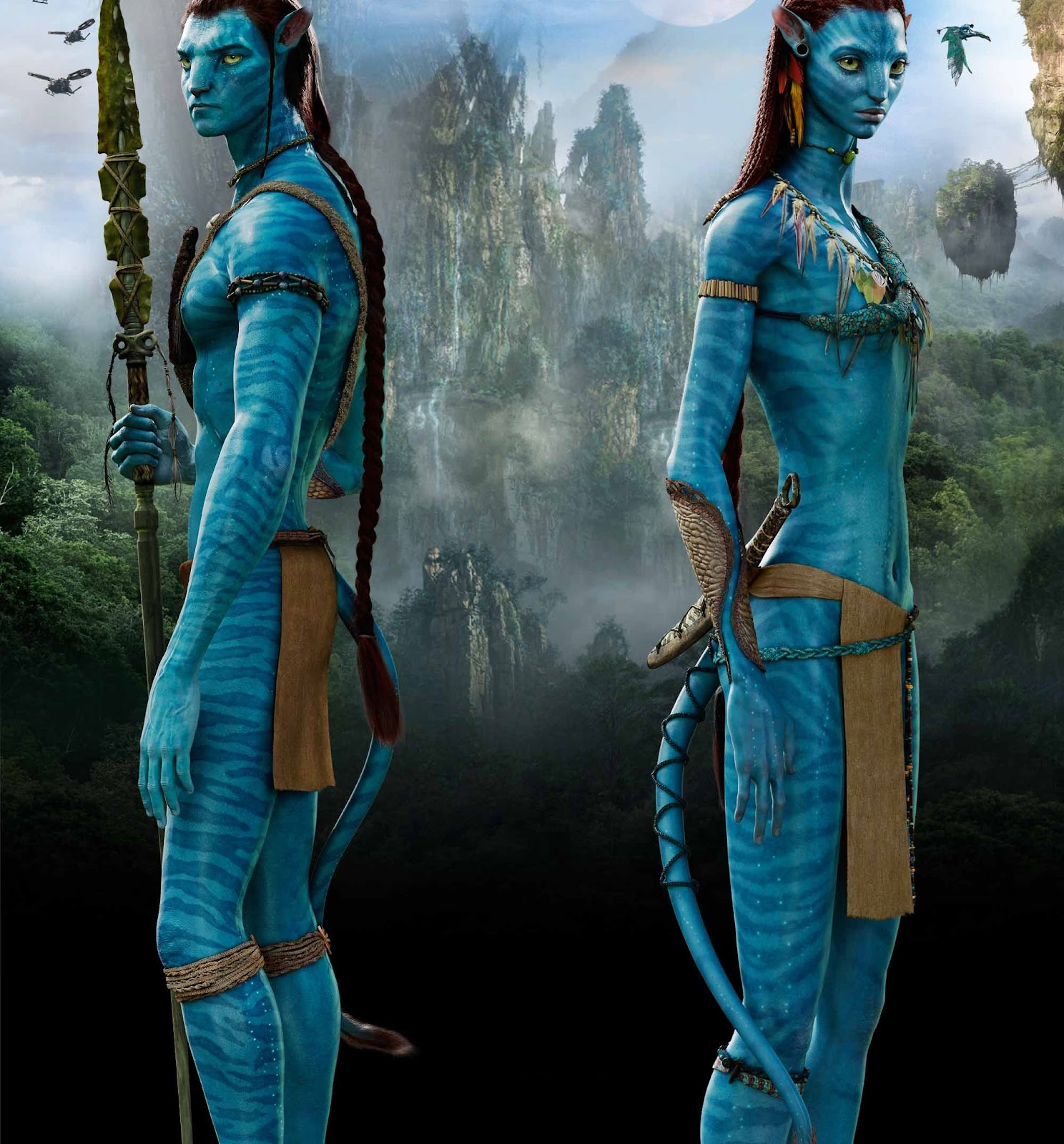 Neytiri Beautiful Warrior in Avatar Your Wallpaper - neytiri beautiful warrior in avatar wallpapers