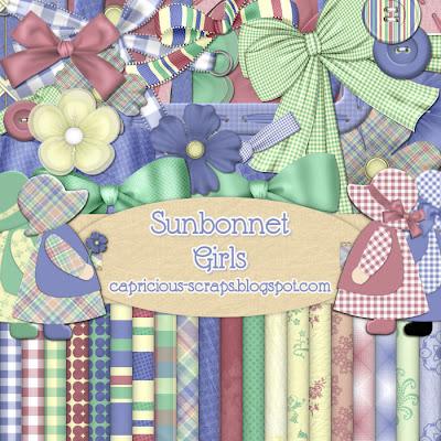 http://capricious-scraps.blogspot.com/2009/06/sunbonnet-girls-kit.html