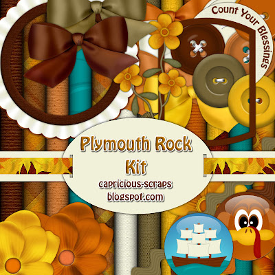 "Scrapbook Freebie ""Plymouth Rock"" by capricious"