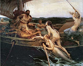 Greek Hero Ulysses and the Sirens