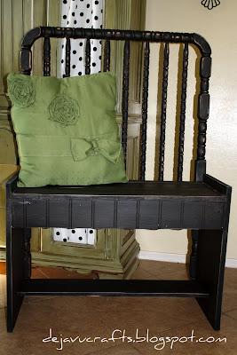 Dejavu Crafts Crib Bench Tutorial Comeing Tomorrow