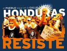 ¡¡Honduras resiste!!