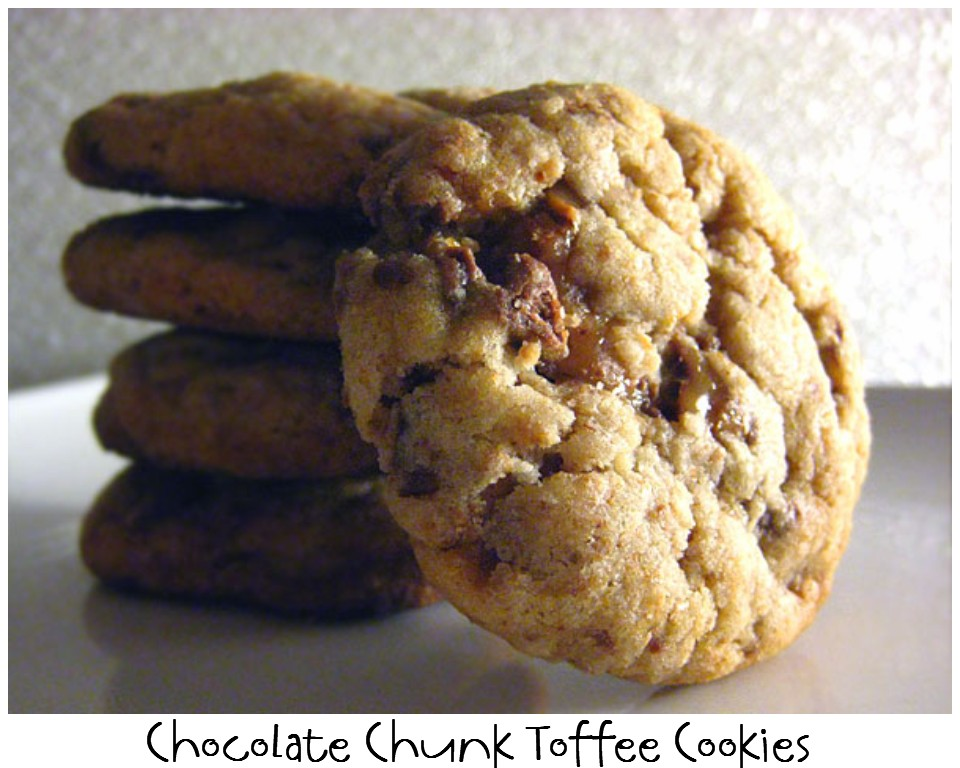 ... NOT Scared!: Mix Recipe #10: Chocolate Chunk Toffee Cookie Mix Recipe