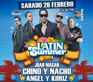 Latin Summer 2011 en Lima, explanada Latin Summer 2011, Sábado 26 de Febrero, Explanada Arena Punta Hermosa, Sábado 26 de Febrero 2011
