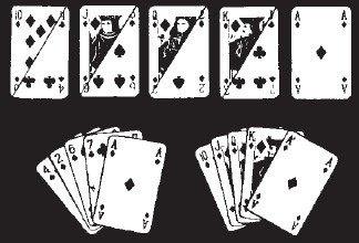 4 aces royal flush card trick
