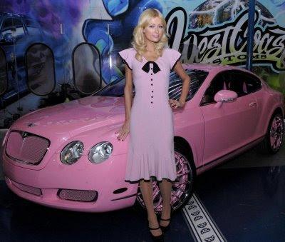Bentley on Paris Hilton Pink Bentley Photos   Online Video Way2hight   A Cool