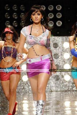 Anushka in Bikini in Billa