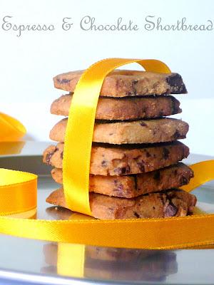Ria's Collection: ♥Espresso & Chocolate Shortbread Cookies♥