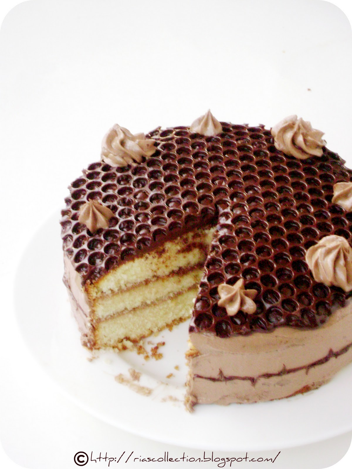 Honey Bubble Cake Recipe